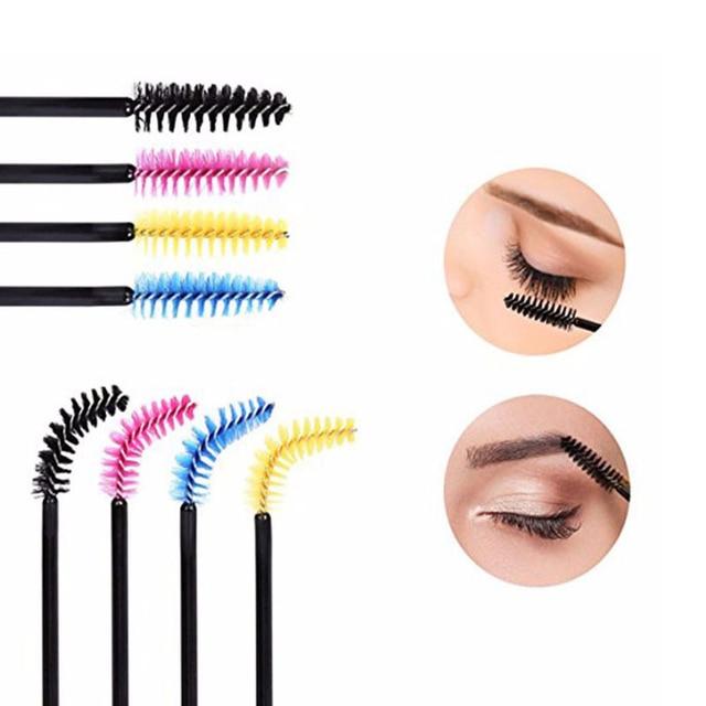 New 500Pcs Eyelash Makeup Brushes Extension Disposable Eyebrow Mascara Applicator Lashes Brush Cosmetic Maquiagem  Makeup Tool 3