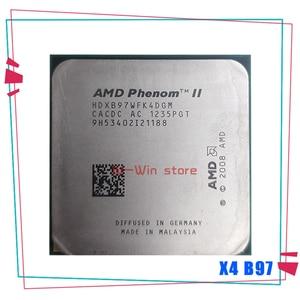 AMD Phenom X4 B97 3.2Ghz Quad-Core DeskTop CPU HDXB97WFK4DGM Socket AM3