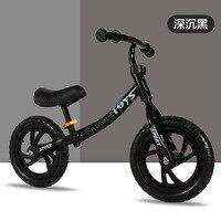 Bicicleta do equilíbrio das crianças de 12 polegadas sem pedais 3-6 anos de idade do bebê crianças slide bicicleta equilíbrio carro yo walker