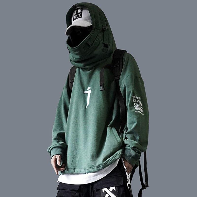 2019 Claw Marks Streetwear Hoodies Men Sweatshirt Hip Hop Male Autumn Winter Warm Mens Casual Pullover