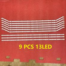 3set=9pcs 13LED LED Backlight strip for UN40J6200 UE40H6203AW UE40H6203AK UE40EH5300 D3GE 400SMB R3 400SMA R2 BN96 28767B 28766A