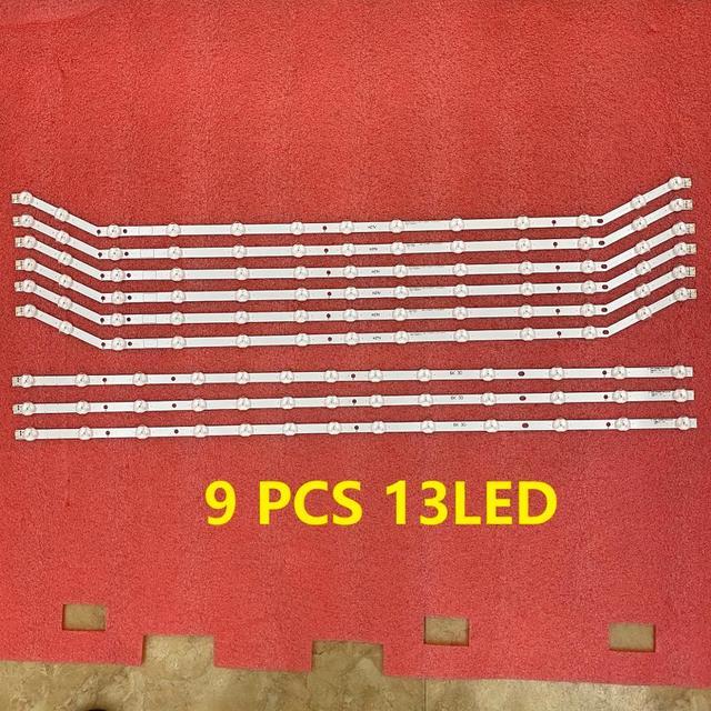 3set = 9pcs 13LED LED 백라이트 스트립 UN40J6200 UE40H6203AW UE40H6203AK UE40EH5300 D3GE 400SMB R3 400SMA R2 BN96 28767B 28766A