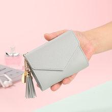 Carteira pequena venda quente bolsa de moedas feminina curto estudante bonito mini saco de moedas chaveiro pequeno saco de moedas carteiras