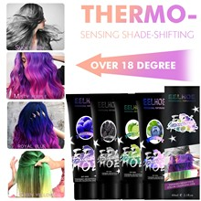 Thermochromic Color Hair Wax Styling Changing Wonder Dyes Hair Dyes Multicolor Hair Pigment Hair Dye Color Paint Pastels Salon