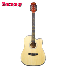 Benny 41 inch Wooden Guitar for Beginner with GUitar bag Capo Strings Accessories Benny01