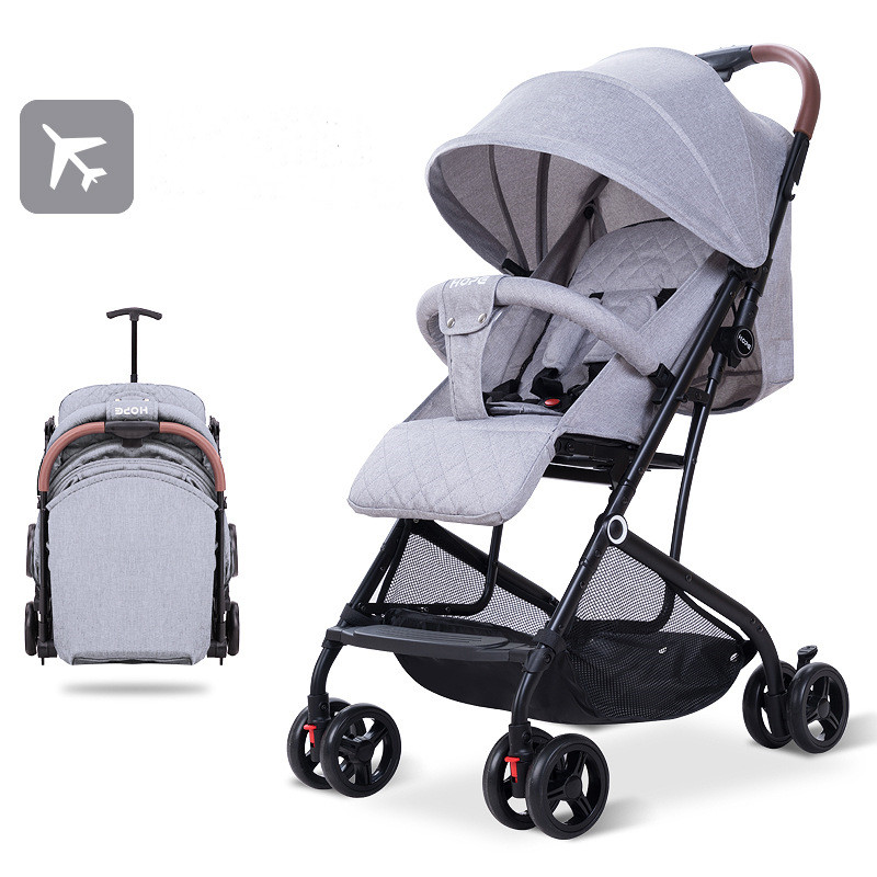 Baby Stroller Lightweight and Simple Ultra-small Sit-lay Baby Stroller