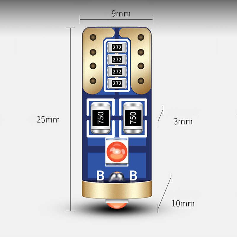 4 pièces Canbus T10 W5W LED ampoule 168 coffre de voiture dôme plaque d'immatriculation lumière adaptée pour Toyota Corolla Avensis Yaris Rav4 Prius Camry Celica