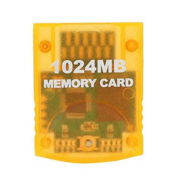 1024MB Large Capacity Memory Card Game Accessories For WII Gamecube Game Console Save Game Data Stick Module image
