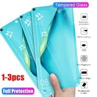 3-1 Uds protectora de vidrio para huawei p40 de cristal lite p 40 lite 40 luz p40lite 40p protector de pantalla de vidrio templado de tremp películas