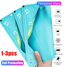 3 1pcs protective glass on for huawei p40 lite glass p 40 lite 40light  p40lite 40p screen protector tempered glas tremp films