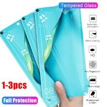 화웨이 p40 라이트 유리 p 40 라이트 40 라이트 p40lite 40p 화면 보호기에 대한 3 1pcs 보호 유리 강화 유리 tremp 필름