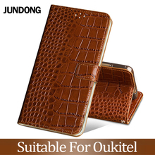 For Oukitel U16 U20 U25 pro C11 C13 K6000 K10000 Pro Case Cowhide Luxury Card slot wallet phone flip cover