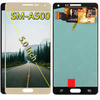 SUPER AMOLED A500FU LCD For Samsung Galaxy A5 2015 A500 A500F A500M SM-A500F LCD Touch Screen Digitizer Assembly Replacement
