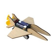 цена на Model Engine Miniature Scale Model Kit Airplane Aircraft Diecast 1:64 Wooden Kids Toys For Children  Die Cast Desk Boys Wood Toy