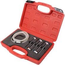 6pc Brake Piston Oil Drain Plug Wrench 7/8/9/10/11mm Brake System Air Evacuation Tool
