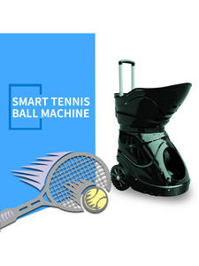 Tennis-Ball-Machine Tennis-Equipment Sparring Remote-Control Exercise Self-Study Intelligent