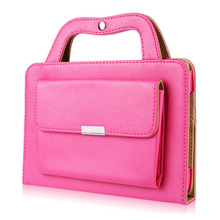 For Ipad 2 3 4 Case Tablet Pu Leather Briefcase Flip Full Protect Stand Cover Wallet Handbag Smart