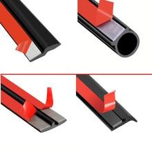 Car 4 Meters IT slanting T V Shape Z Car Door Seal Strip EPDM Rubber Noise Insulation Weatherstrip Seal Auto Accessories