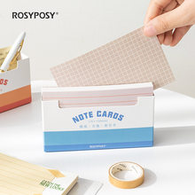 New Arrival 150 Sheets Thickened Grids Line Memo Note Cards Memo Sheet Paper Daily To Do It Papelaria School Stationery