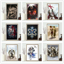 5D DIY diamond painting full round animal warrior rhinestone mosaic embroidery home decoration
