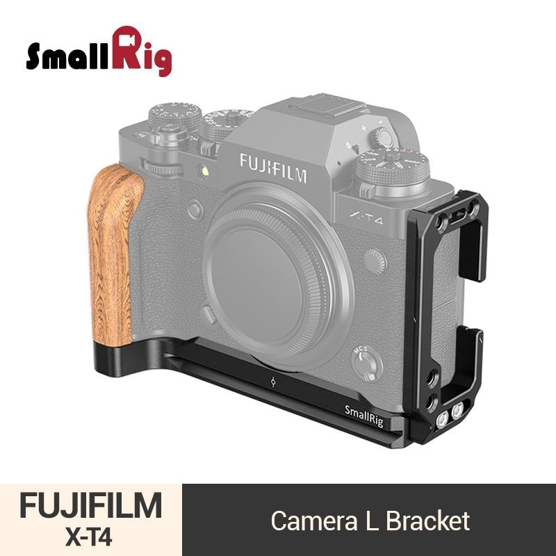 Wooden Hand Grip Bracket Quick Release L Plate For Fuji Xpro3 Fujifilm X PRO3