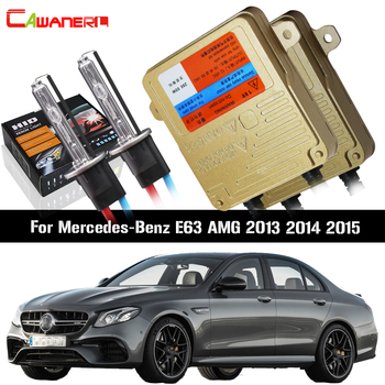 Cawanerl 55W H7 Ballast Bulb Canbus HID Xenon Kit AC Car Light Headlight Low Beam For Mercedes-Benz E63 AMG 2013 2014 2015