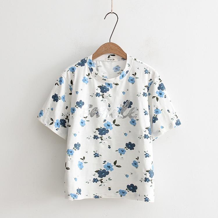 New Arrival Fashion T Shirt Women Printed T-shirts Print  Summer Women 2020 Clothing
