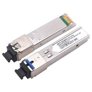 Image 5 - 1pair SC SFP Module Gigabit BIDI 1000Mbps Fiber Tranceiver  Module Mini GBIC SFP Module Compatible with Mikrotik/Cisco Switch