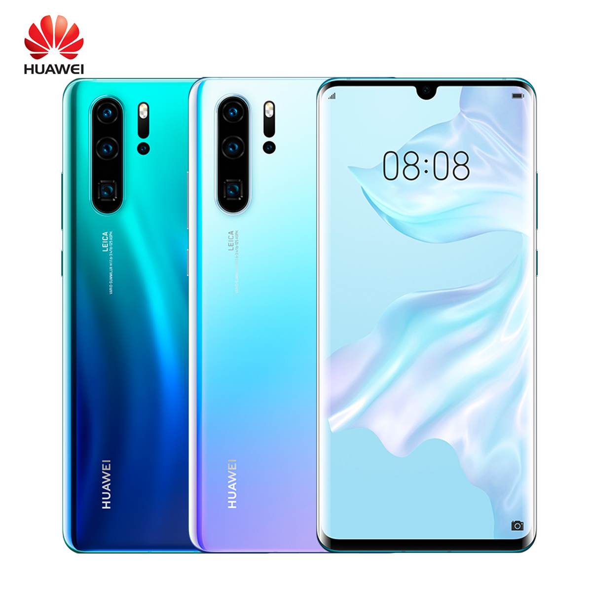 Huawei P30 Pro 8 + 256GB téléphone Mobile 6.47 ''plein écran OLED Kirin 980 Smartphone NFC GPS Android 9.1 5 caméras 40MP + 32MP