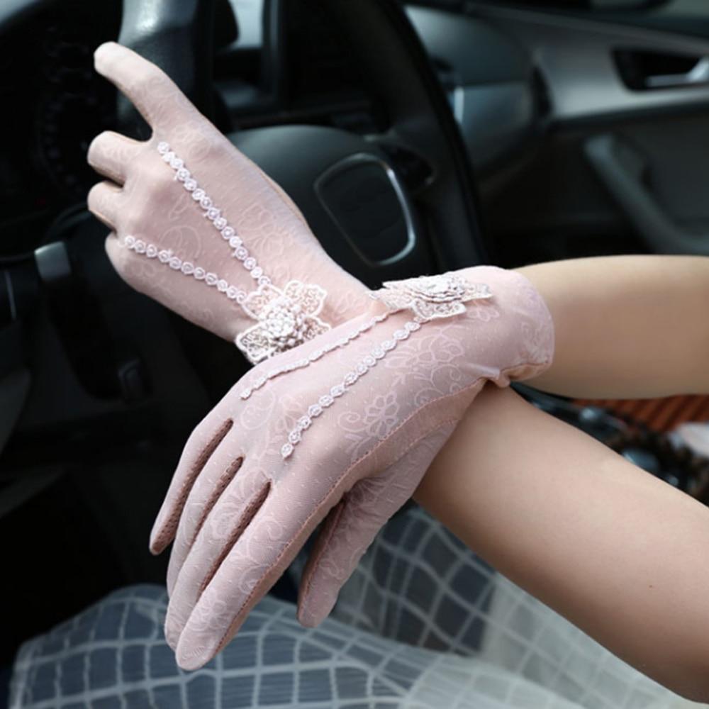 Дышащие сетчатые перчатки для езды на открытом воздухе с защитой от ультрафиолета, вечерние домашние летние велосипедные перчатки для защиты от солнца|Женские перчатки|   | АлиЭкспресс