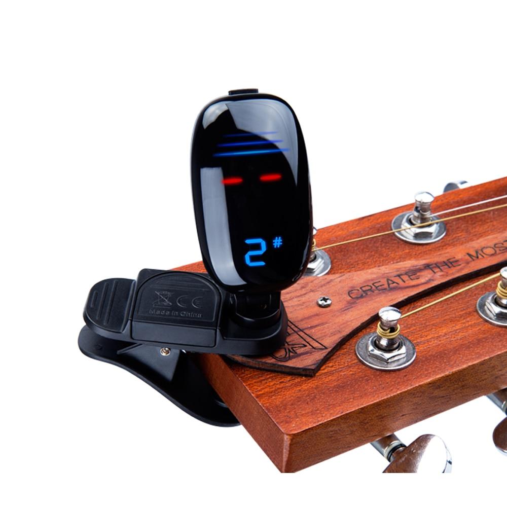 Accordeur Électronique Pour Guitare Et Basse