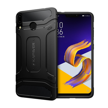 KAPAVER Luxury Official Silicone Phone Case For ASUS Zenfone 5Z Case Shockproof Bumper protection Back Cover High Quality funda