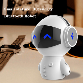M10 Intelligent Stereo Robot Bluetooth Speaker Noise Cancelling Hands-free Call Robot Speaker Power Bank TV wireless speakers