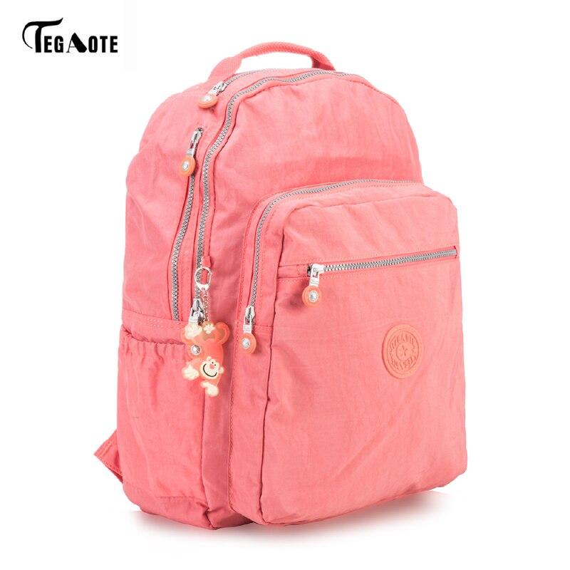 Women Backpack Girls Kipled Nylon Backpacks Preppy Style Backpack Mochila Feminina Female Travel Schoolbag Large Capacity Bag