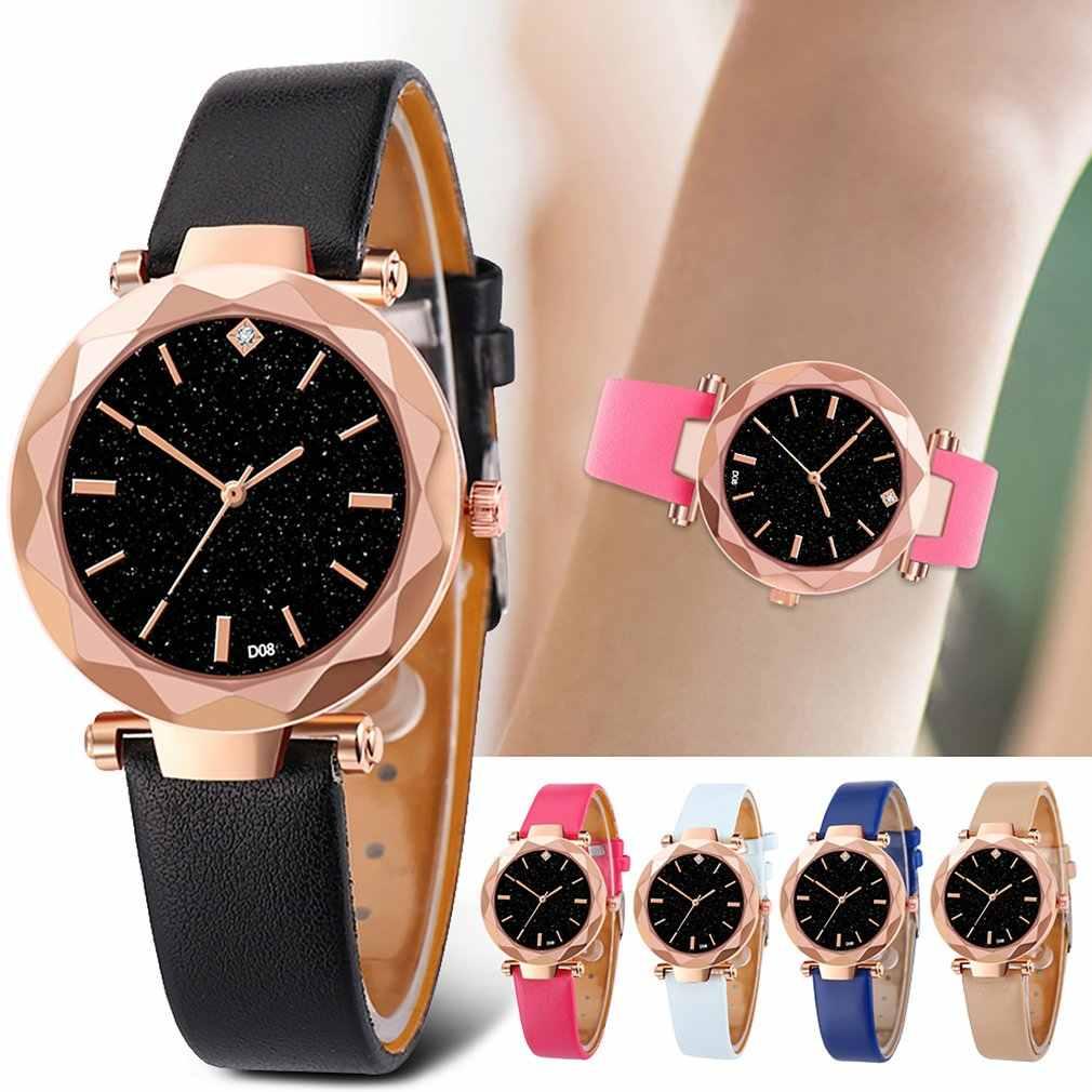 D08-C Pu レザー腕時計ファッション女性の腕時計腕時計時計時計女性のギフト