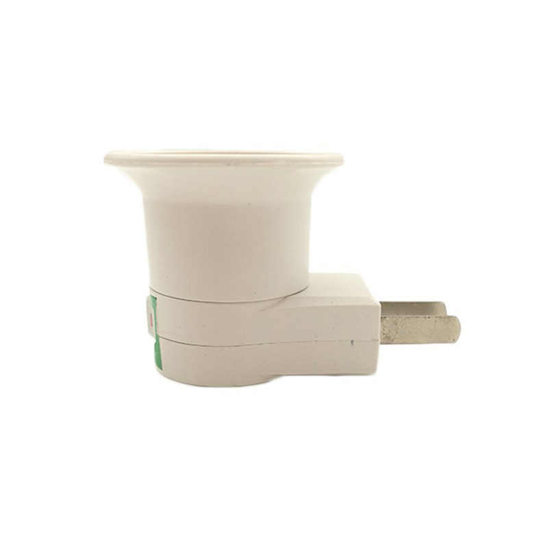 E27 Socket Lamp Holder Soquete Douille E27 Bulb Holder To EU US Type Plug Adapter Converter For Bulb Lamp Holder With Button