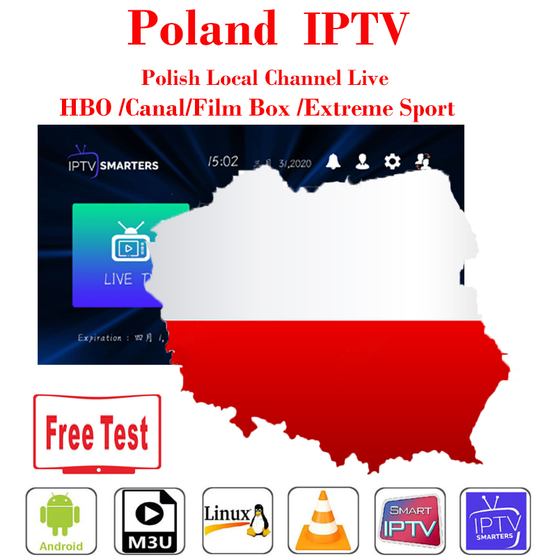 Poland IPTV M3U 1 Year Subscription Smart Ip Tv Full HD Poland Local Channels Live VOD With Xxx For Smarters TV Box Android Iptv