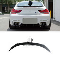 F06 F12 F13 V Style Rear Wings High Quality Carbon Fiber Auto Car Rear Spoiler for BMW 6 Series 640i 650i Car Body Kit 12 17
