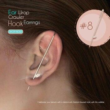 Ear Wrap Crawler Hook Earrings 5