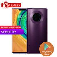 Huawei Mate 30 Pro 8GB 128GB Smartphone 40MP Triple Telecamere 32MP Anteriore Della Macchina Fotografica 6.53 ''Schermo Intero Kirin 990 27W Senza Fili di CONTROLLO di QUALITÀ