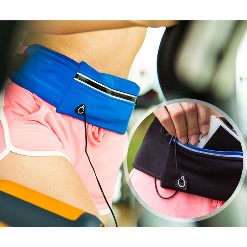 Outdoor Pocket Anti-Theft Mobile Phone Sports Portable Fitness Bag Holding Water Cycling Phone Bag Men and Women Running Belt