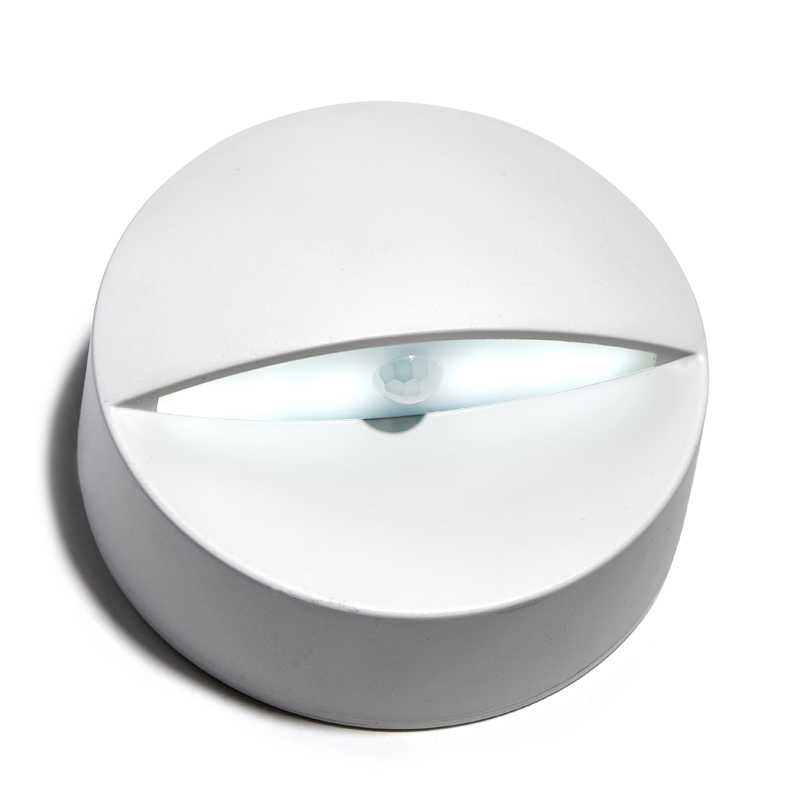 Night Light With Motion Sensor Indoor 6 Leds Battery Operated Step Light For Stairway Toilet Bedroom Hallway Nightlight