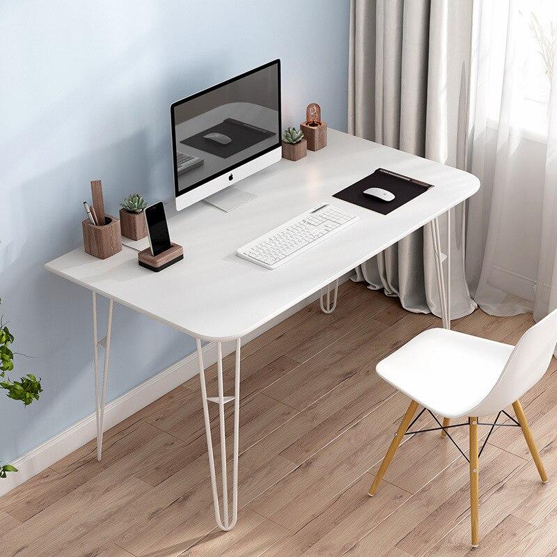 Wood Computer Desk Desktop Home Minimalist Modern Writing Desk Office Desk Study Table Desk Small Table