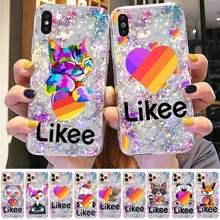 Toplbpcs likes gato engraçado urso amor coração caso de telefone para iphone 8 7 6s plus x 5S se 2020 xr 11 12mini pro xs max