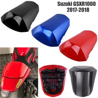For Suzuki GSXR 1000 GSXR1000 2017 2018 Motorcycle Pillion Back Passenger Rear Seat Cowl Cover Fairing ABS Plastic Tail Cover