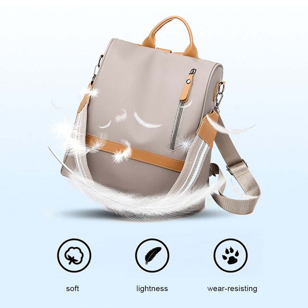 H5102e26bb99d4ba496ec55afbd18878ee - Fashion Women Waterproof Travel Backpack Anti-theft Oxford Backpack Female School Bags Bagpack For Girls Shoulder Bag