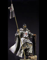 1/6 high 230mm ancient warrior stand with spear Resin figure Model kits Miniature gk Unassembly Unpainted