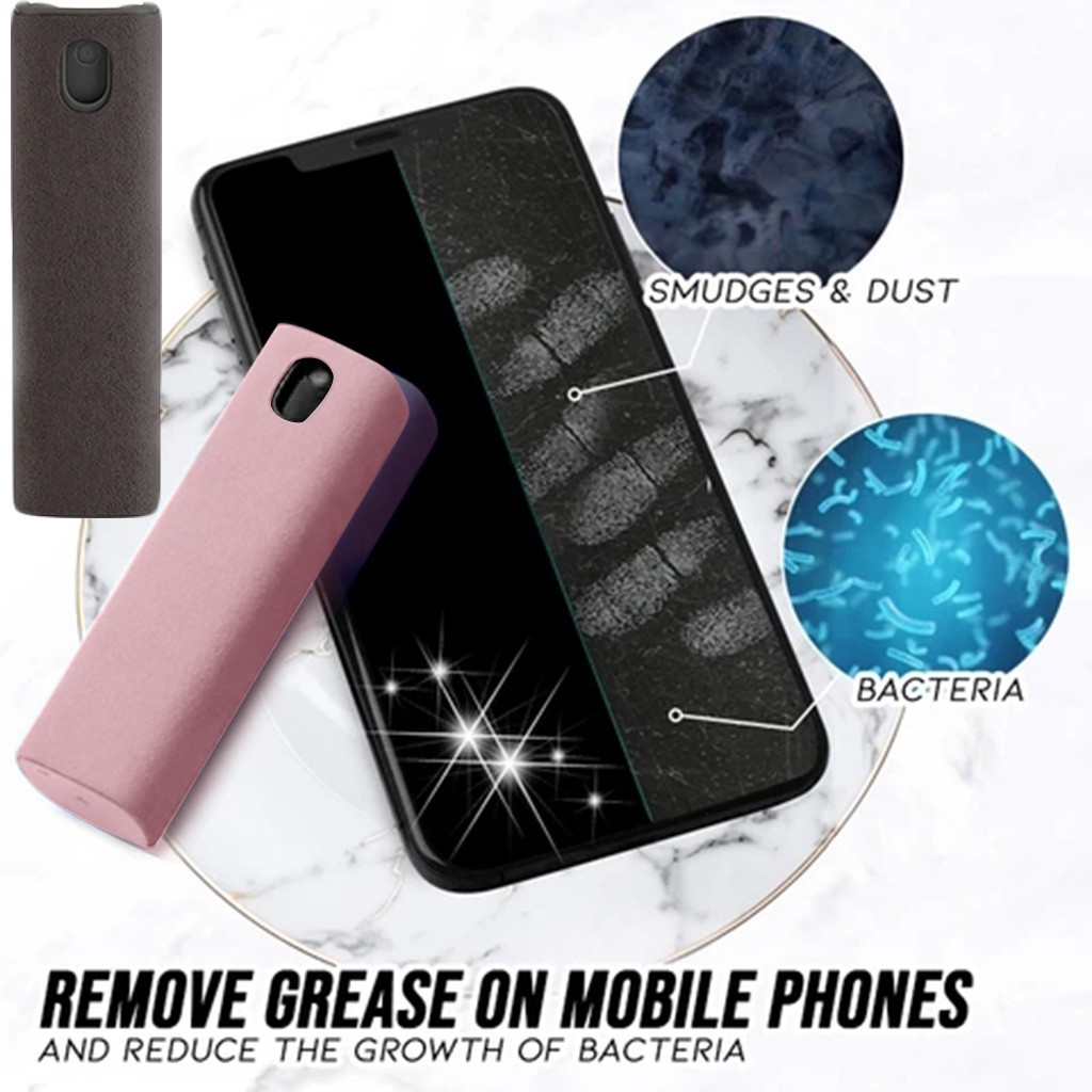 One Swipes Hygienic Monitor Cleaner Mobile Phone Computer Screen Cleaner Spray Hygienic Monitor Cleaner 10ml Cleaning Supplies