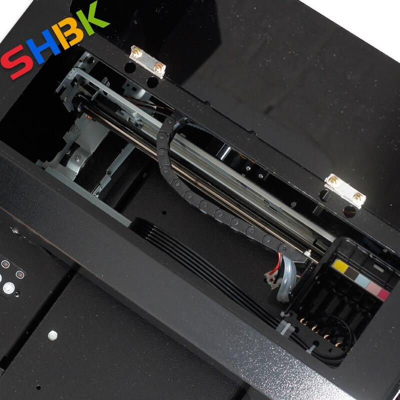 ¡Entrega Gratuita! 2020 nueva impresora UV de tamaño A4 mejorada para impresión de acrílico, plástico transparente, vidrio y material plano transparente. - 6