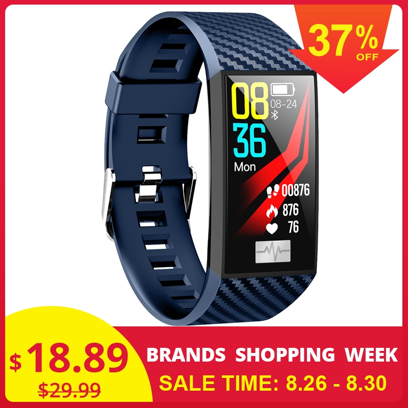 Wristband Bracelet Monitor Fitness Tracker Ecg Ppg Heart-Rate No.1 Dt58 Hot-Sale Blood-Pressure